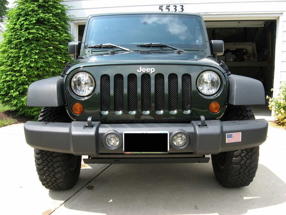 Jk Grill Mod Mesh Grill Modification For Jk Jeep Wrangler