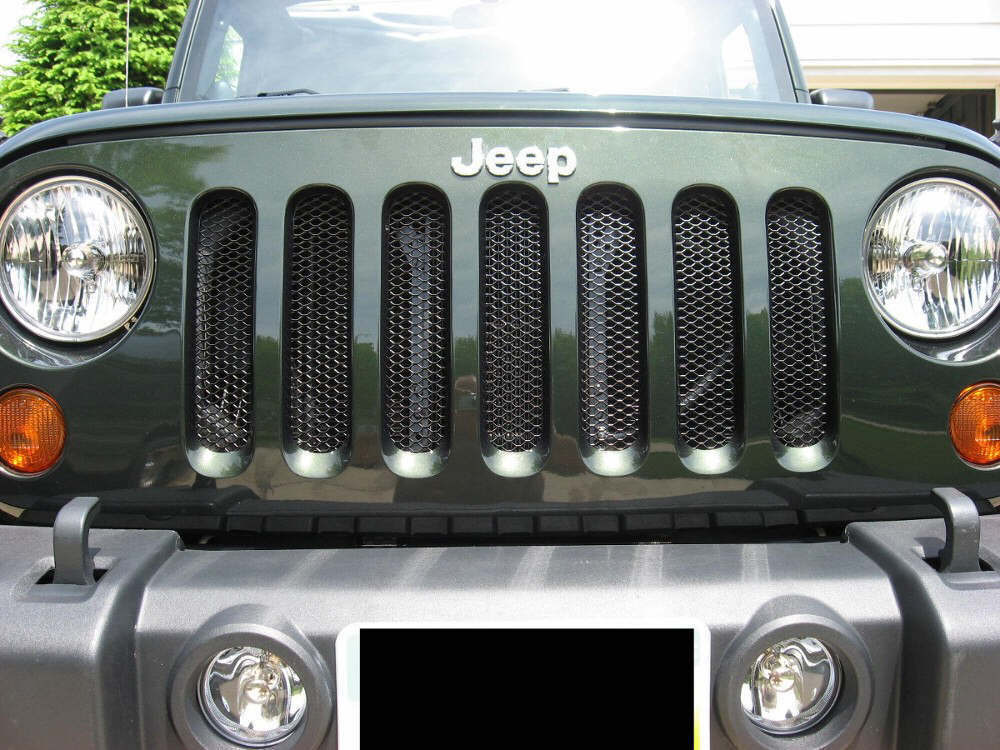 Jk Grill Mod Mesh Grill Modification For Jk Jeep Wrangler
