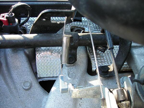 Adding Throttle Spring to Jeep TJ Wrangler
